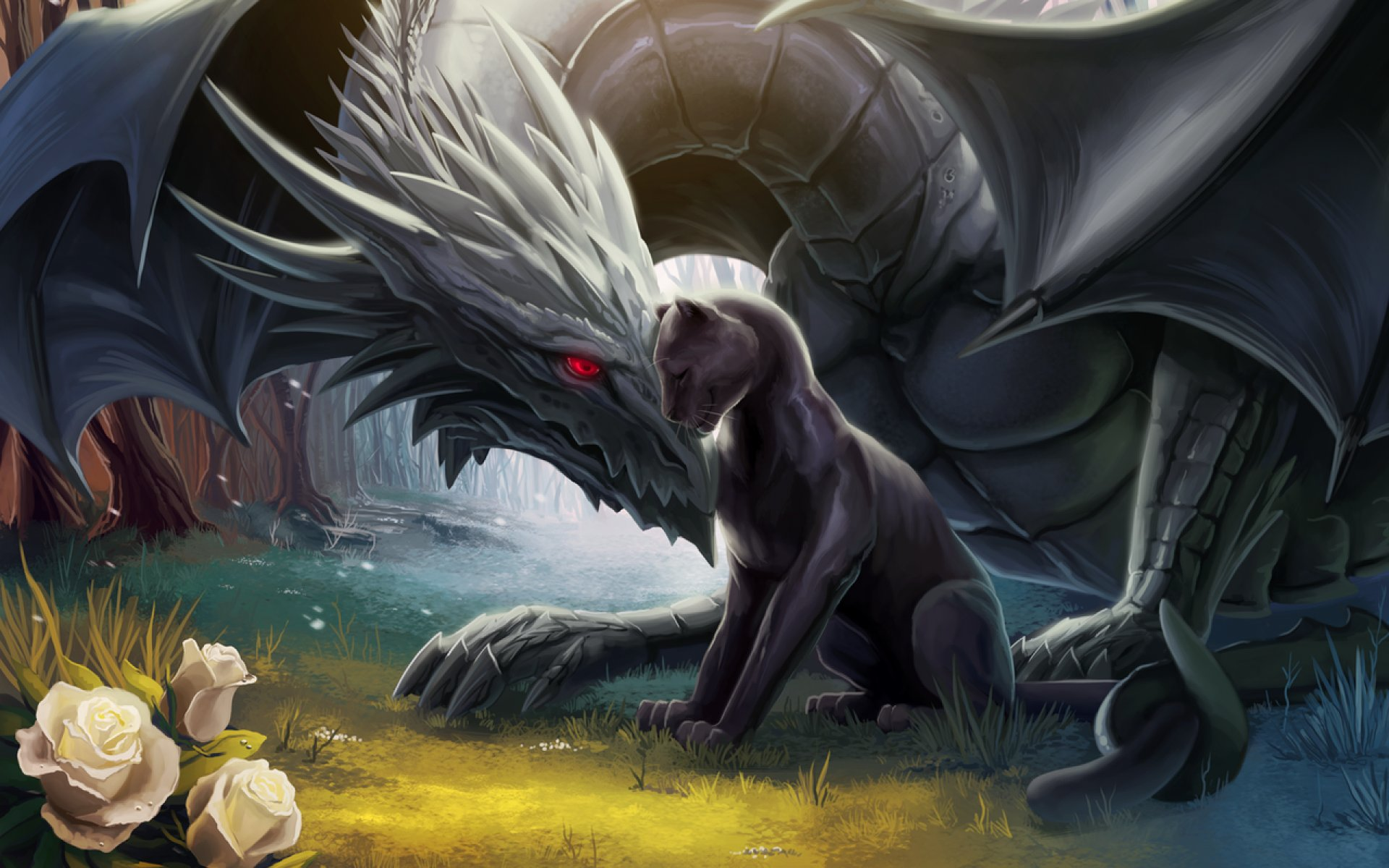 Dragon fantasy artwork art dragons wallpaper | 1920x1200 ...