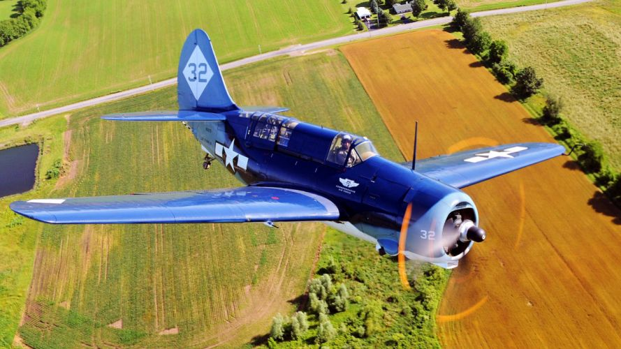 aircraft plane landscapes nature earth fields sky trees blue polet propeller samolet pilot 32 wallpaper
