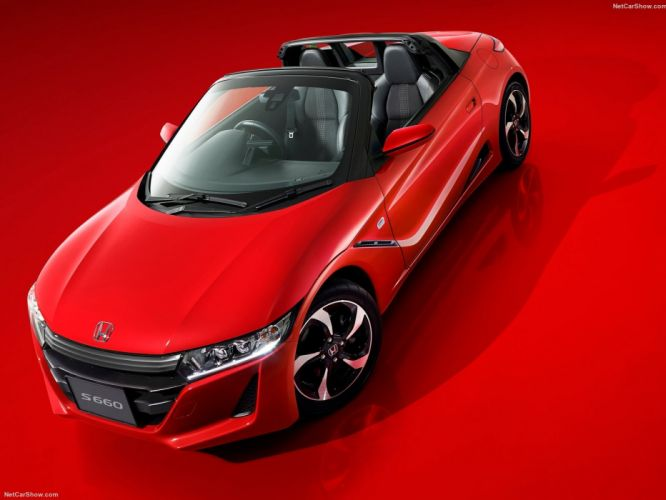 Honda S660 convertible cars japan 2015 wallpaper