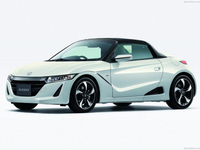Honda S660 convertible cars japan 2015 wallpaper