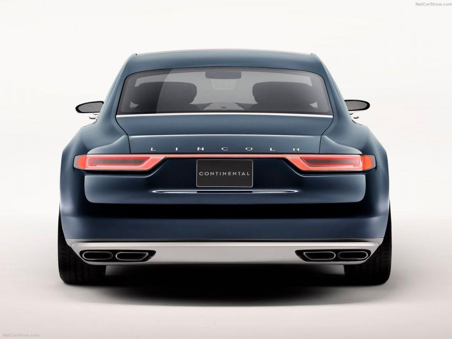 Lincoln Continental Concept cars 2015 wallpaper