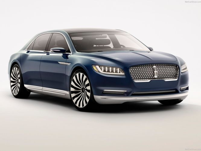 Lincoln Continental Concept cars 2015 wallpaper