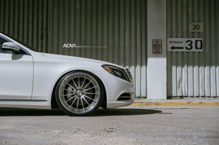 ADV 1 WHEELS tuning MERCEDES S550 cars wallpaper