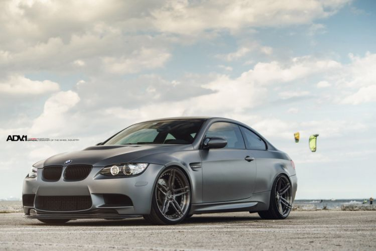 ADV 1 WHEELS tuning BMW E92 M 3 coupe cars wallpaper