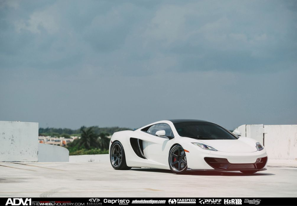ADV 1 WHEELS tuning MCLAREN MP4 12C coupe supercars cars wallpaper
