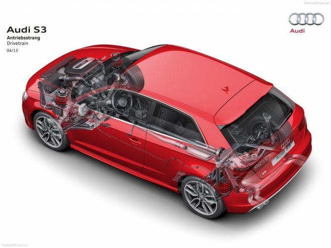 Audi S 3 Technical cars 2014 wallpaper