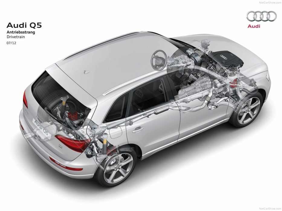 Audi Q 5 suv Technical cars 2013 wallpaper