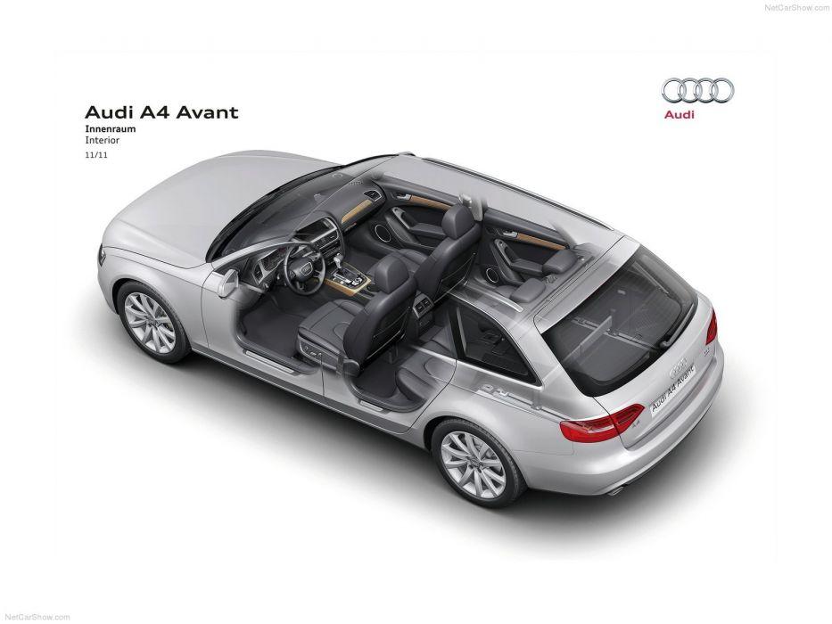Audi A 4 Avant Technical cars 2013 wallpaper