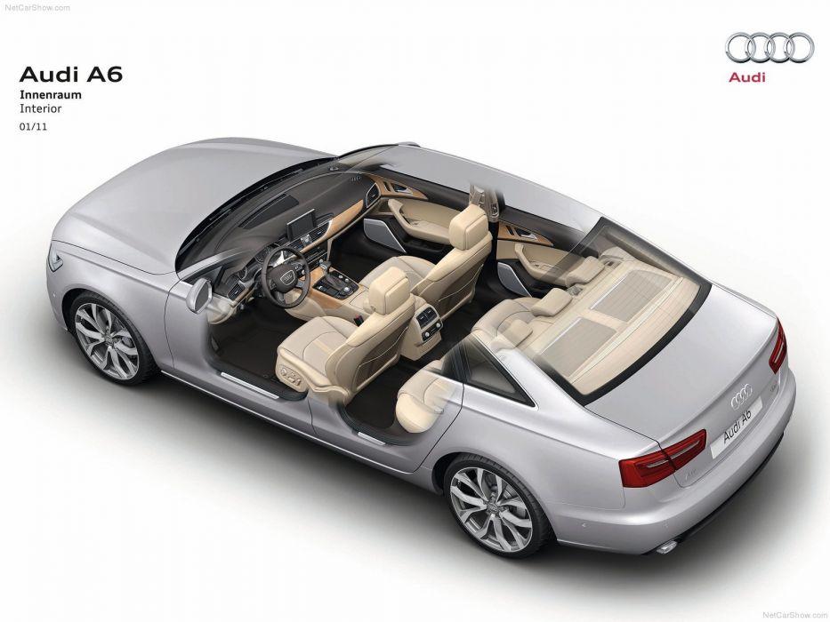 Audi a 6 Technical cars 2012 wallpaper