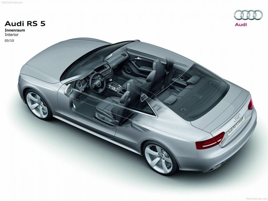 Audi RS5 Technical cars 2011 wallpaper