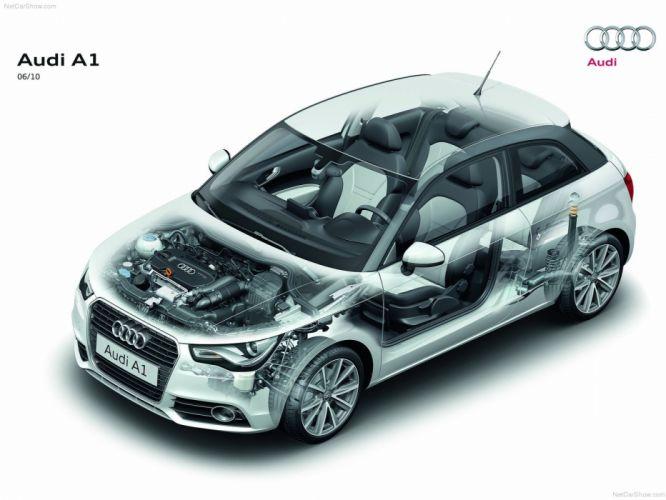 Audi A 1 Technical cars 2011 wallpaper