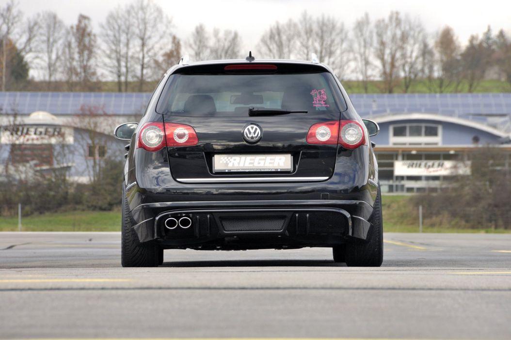 Rieger Volkswagen Passat Variant cars tuning wagon wallpaper