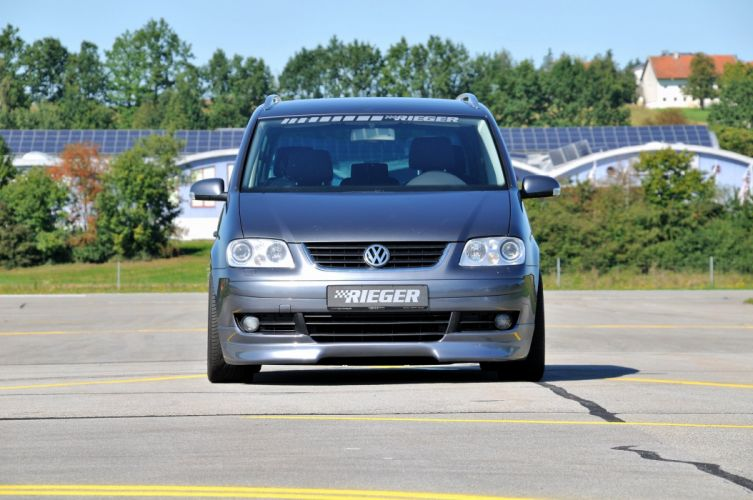 Rieger Volkswagen Touran cars tuning wallpaper