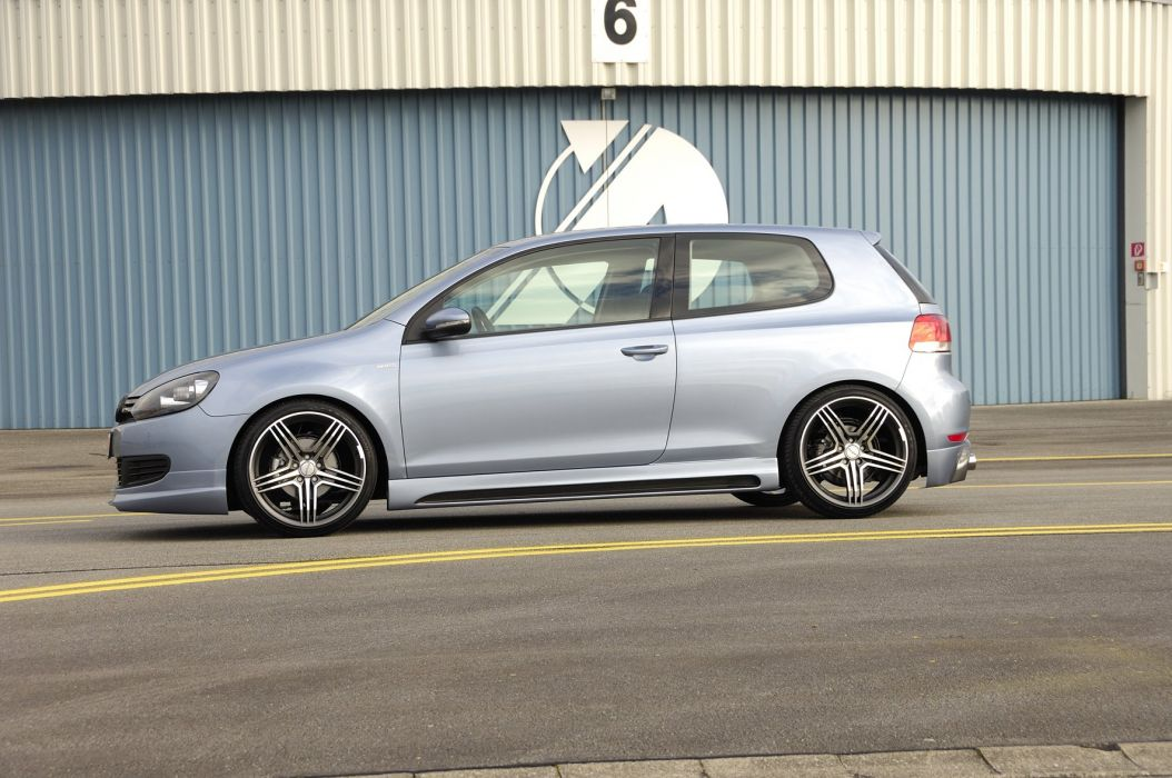 Rieger Volkswagen Golf cars tuning wallpaper