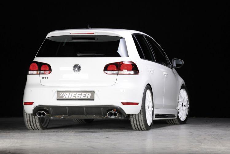 Rieger Volkswagen Golf gti cars tuning wallpaper