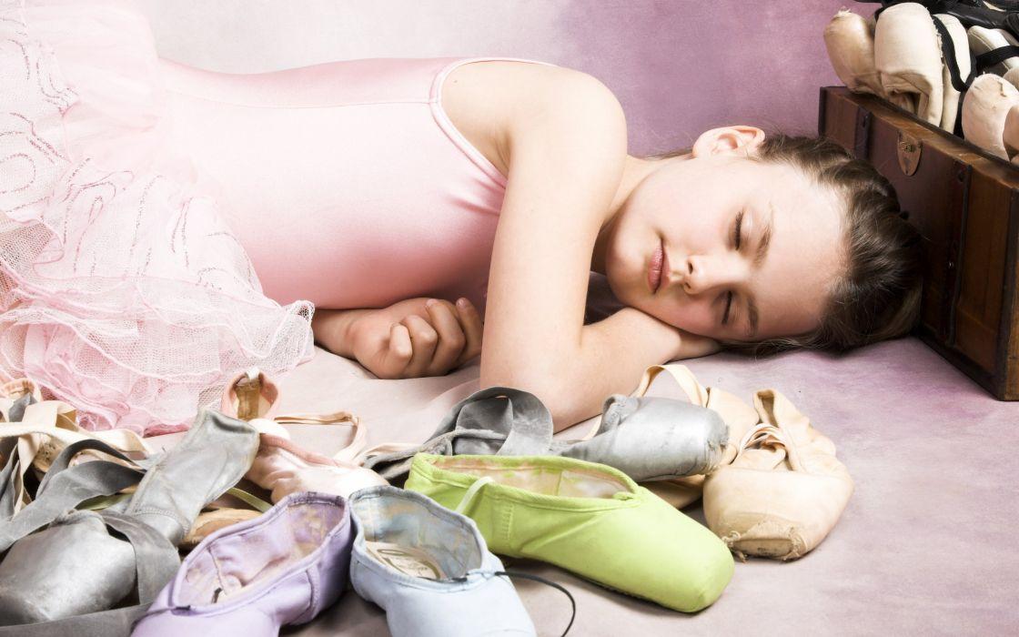 childhood ballet shoes sleeping beauty children little girl ballet wallpaper