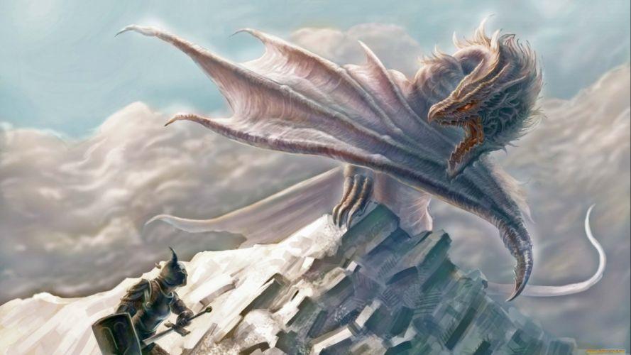 dragon fantasy art artwork wallpaper