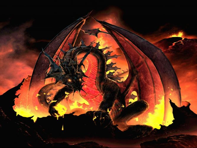 dragon dragons fantasy artwork art wallpaper