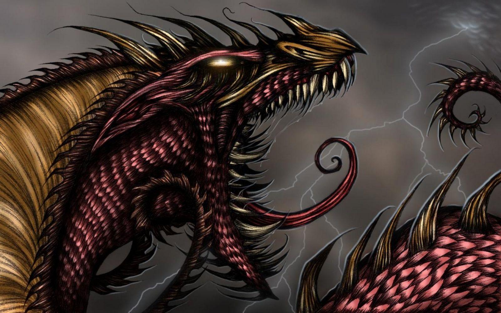 злые драконы картинки