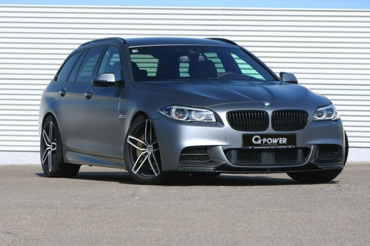 G-Power BMW M550d wagon cars tuning 2015 wallpaper