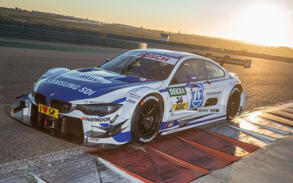 2015 BMW M 4 DTM cars racecars wallpaper