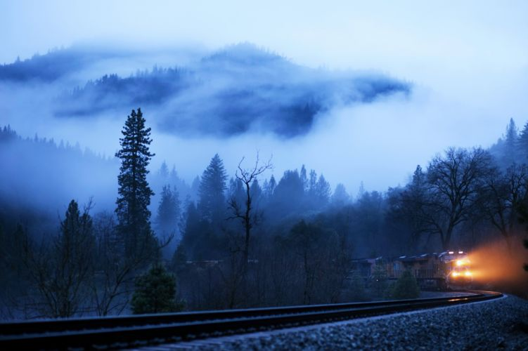 clouds landscapes old railroad sky Sunny trains mountains grass sunny motors speed wallpaper