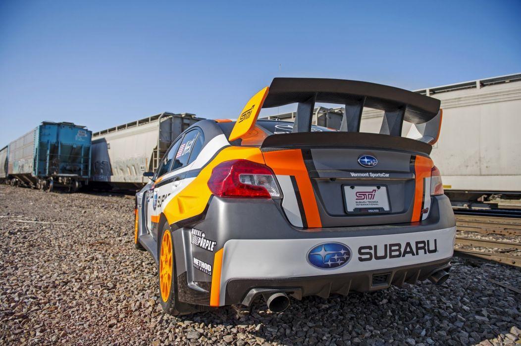 2015 subaru WRX STI Rallycross cars racecars wallpaper
