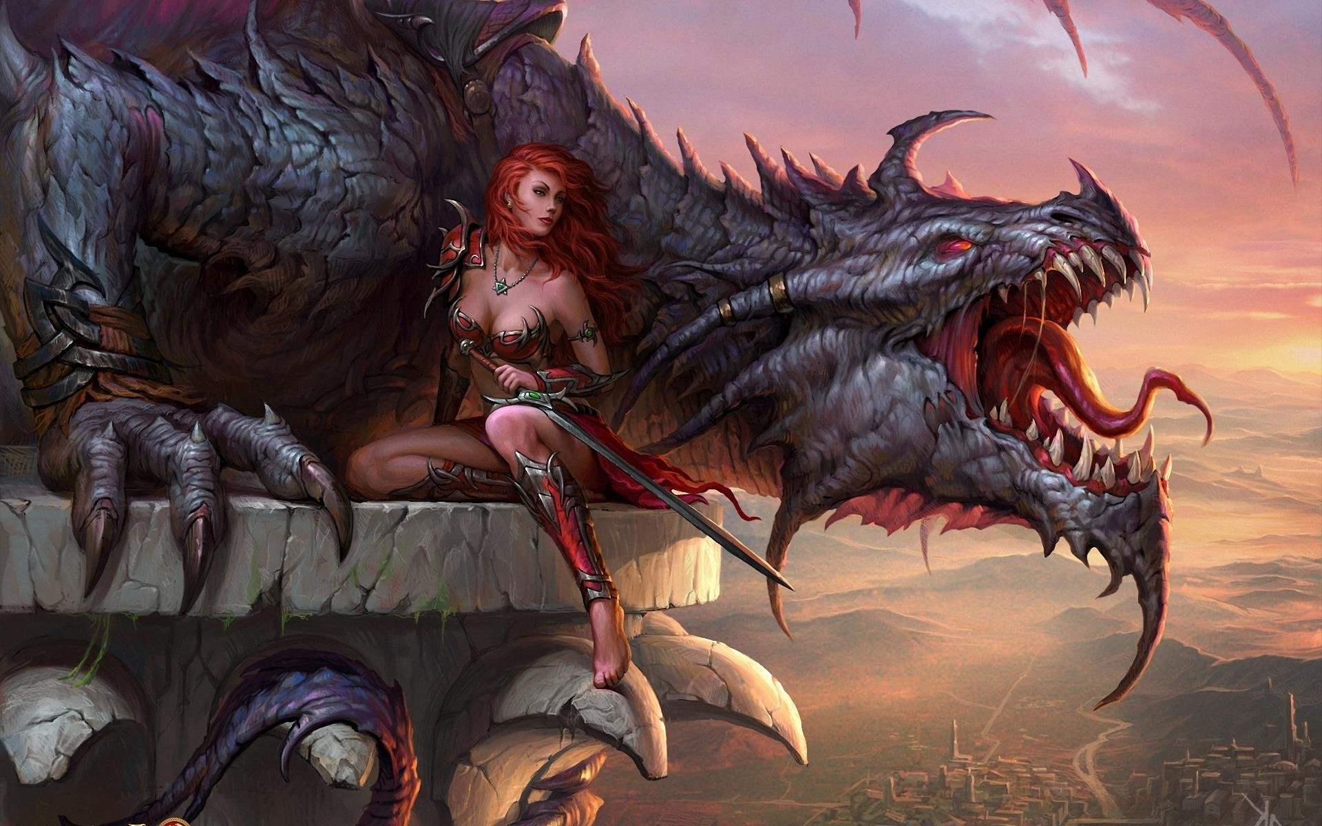 Dragons fantasy dragon art artwork wallpaper | 1920x1200 ...