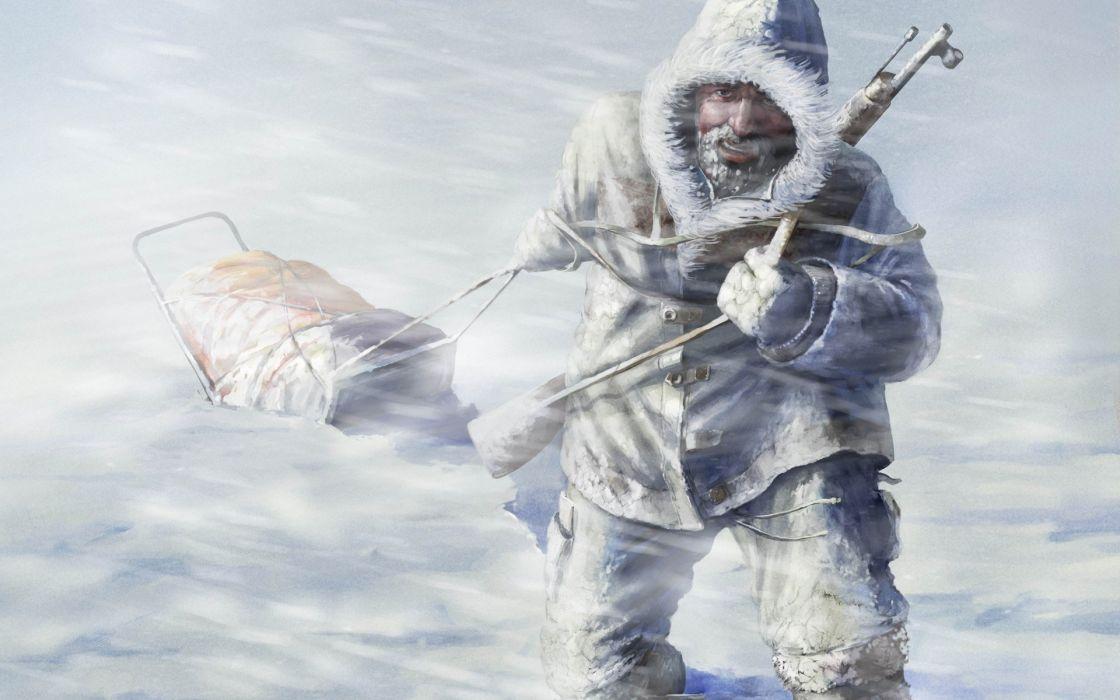 video juego nieve aventuras acciom wallpaper