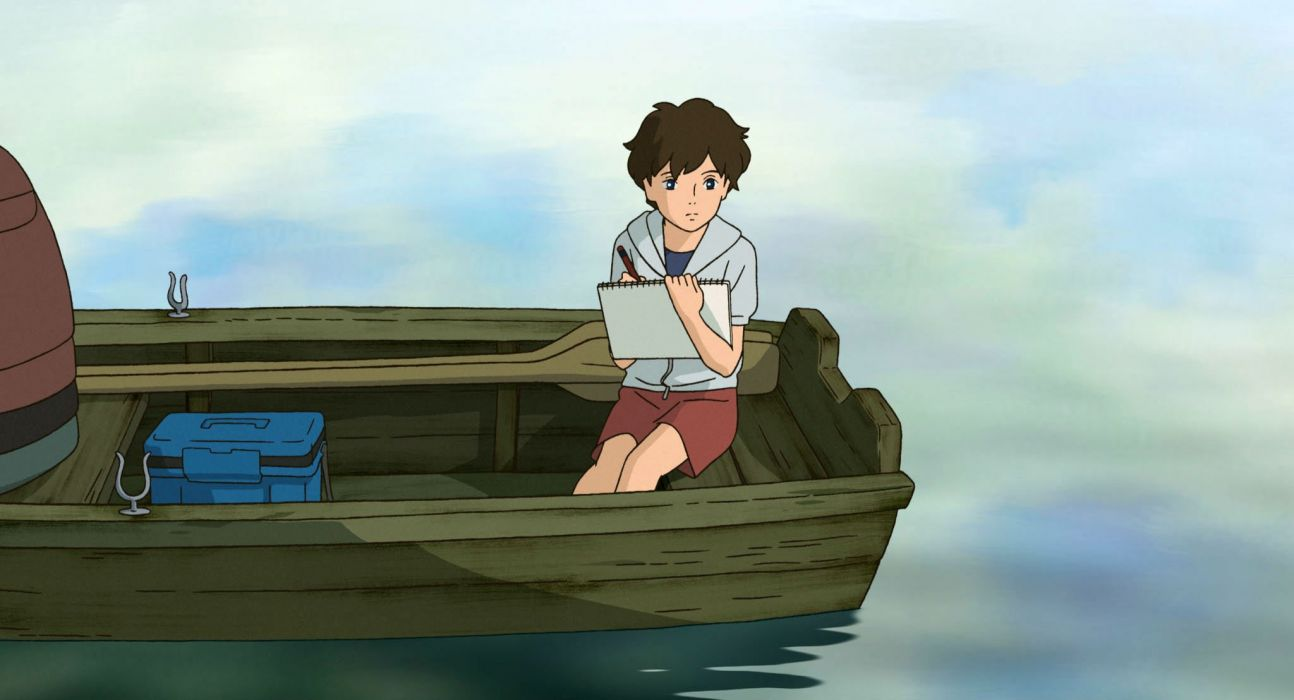 WHEN MARNIE WAS THERE Hepburn Omoide no Marnie anime memories japanese 1wmwt adventure animation drama kaguya ghibli wallpaper