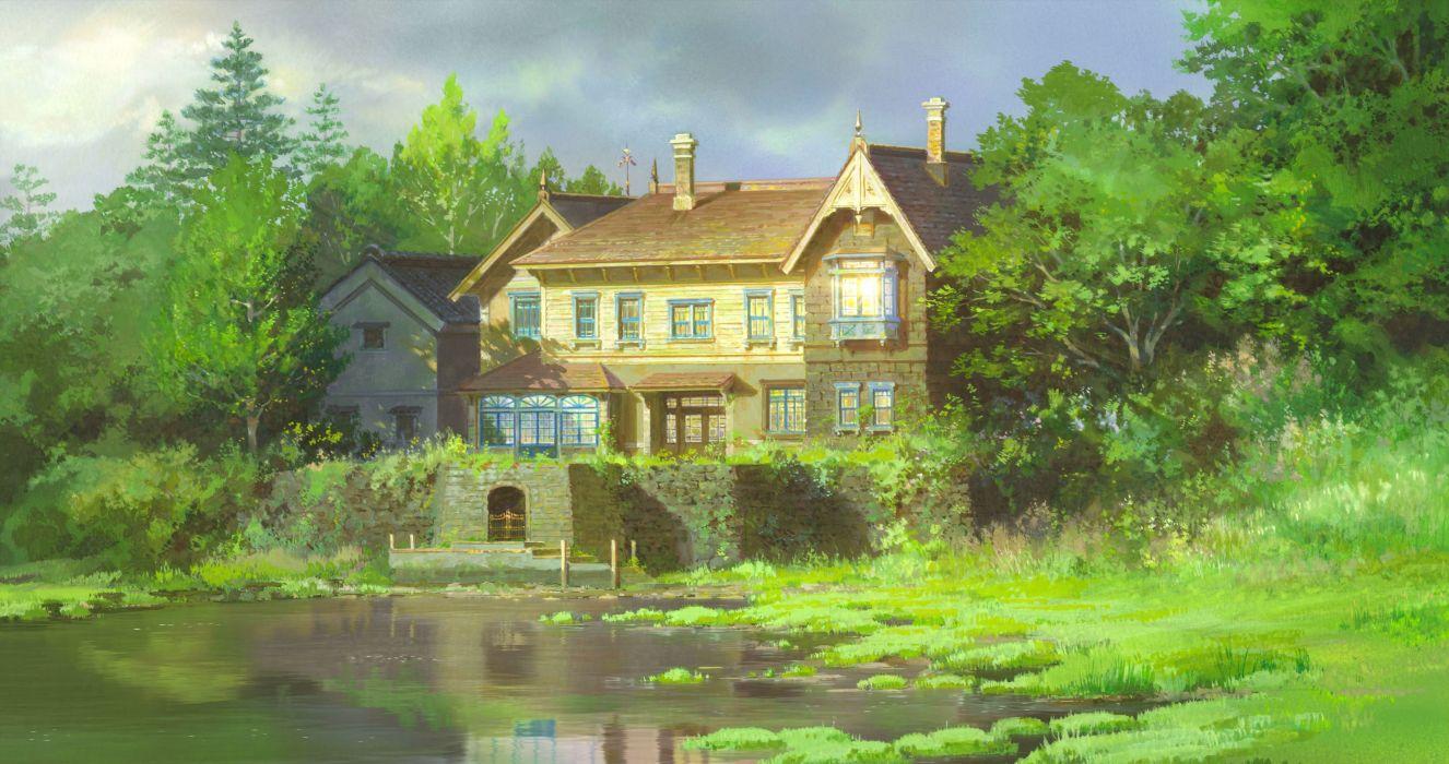 WHEN MARNIE WAS THERE Hepburn Omoide no Marnie anime memories japanese 1wmwt adventure animation drama kaguya ghibli wallpaper