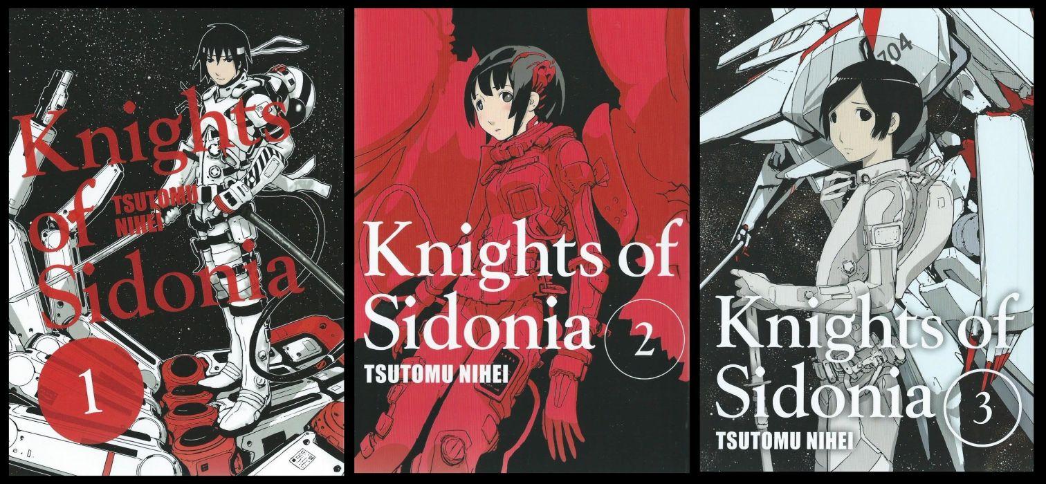 KNIGHTS Of SIDONIA Shidonia no Kishi anime animation manga series sci-fi action adventure 1kosn wallpaper