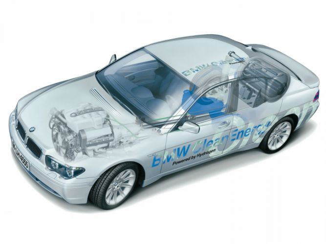 BMW 745h CleanEnergy Concept technical cars wallpaper