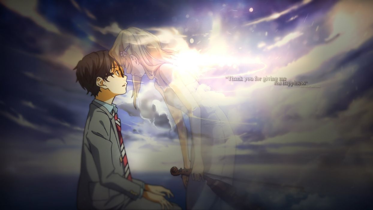 SHIGATSU wa KIMI no USO Arima Kosei Your Lie April adventure manga series 1yourlie wallpaper