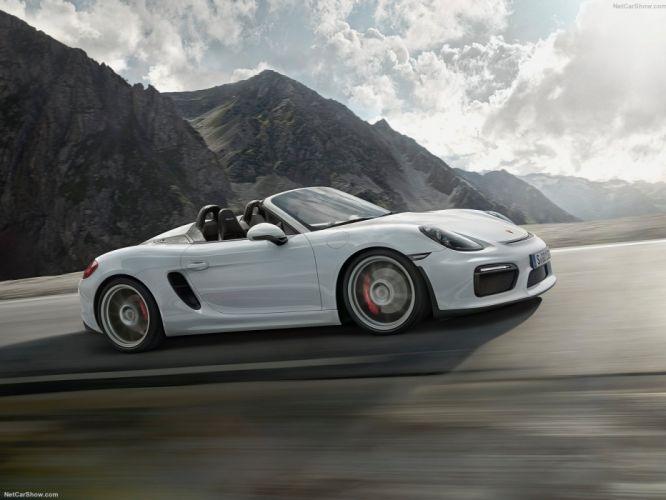 Porsche Boxster Spyder 2016 wallpaper