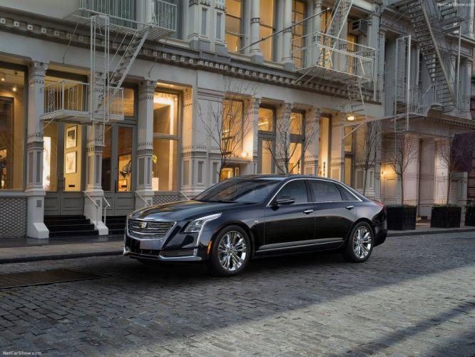 Cadillac CT6 cars sedan 2016 wallpaper
