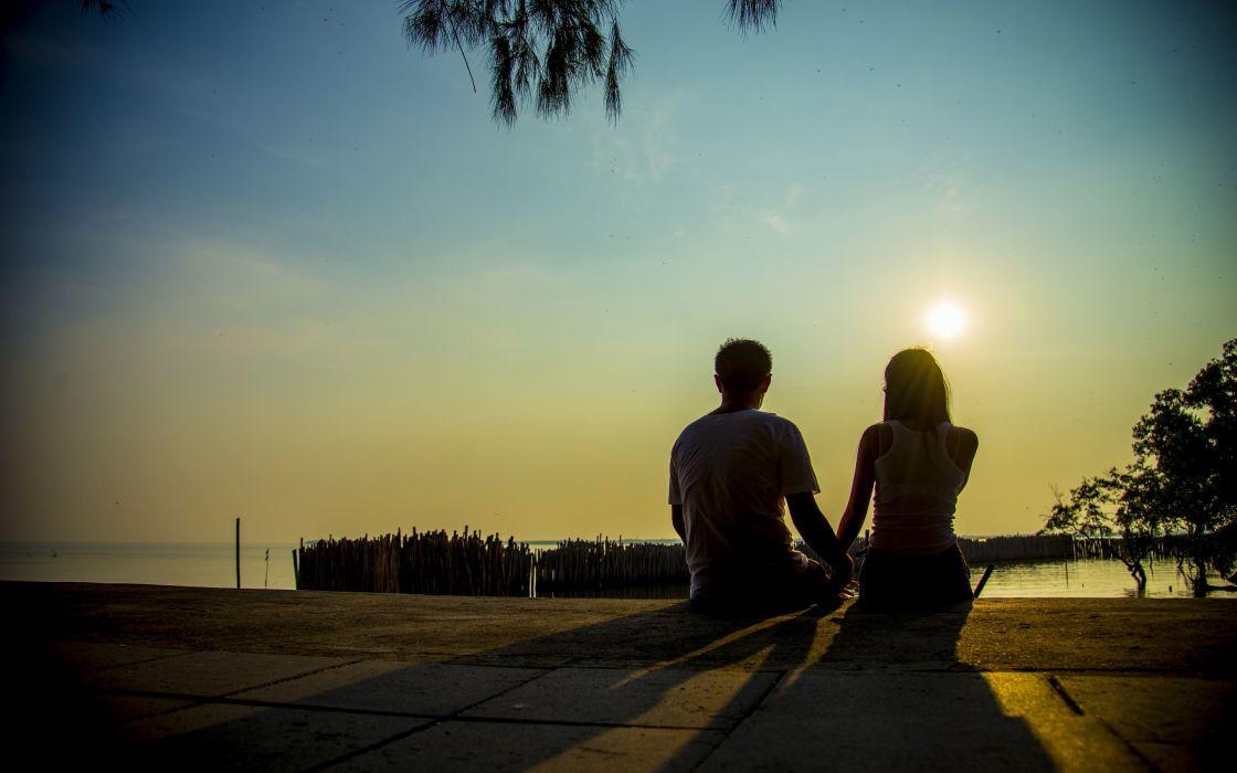 صور رومانسية غروب الشمس