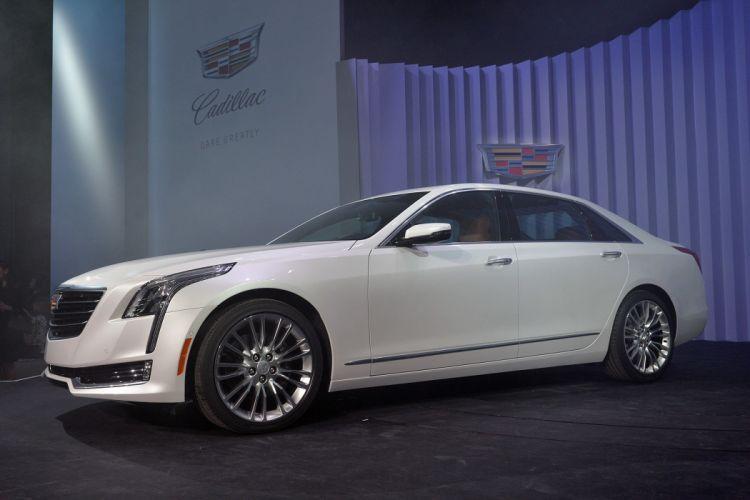 2016 Cadillac cars CT6 sedan wallpaper