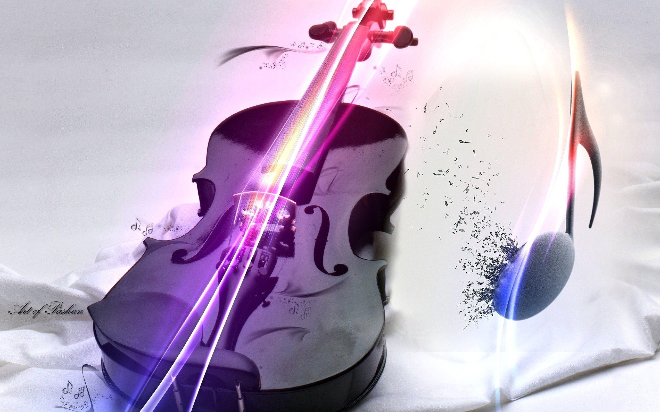 cool 3d wallpaper violin -#main