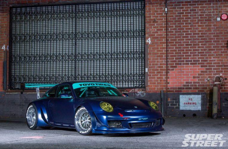 2007 porsche 997 GT3 volkommen design coupe cars tuning wallpaper