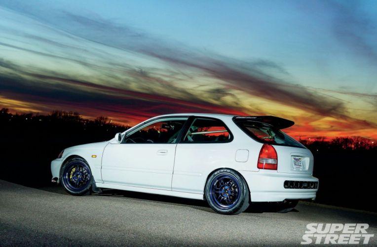 2000 Honda Civic cars tuning wallpaper