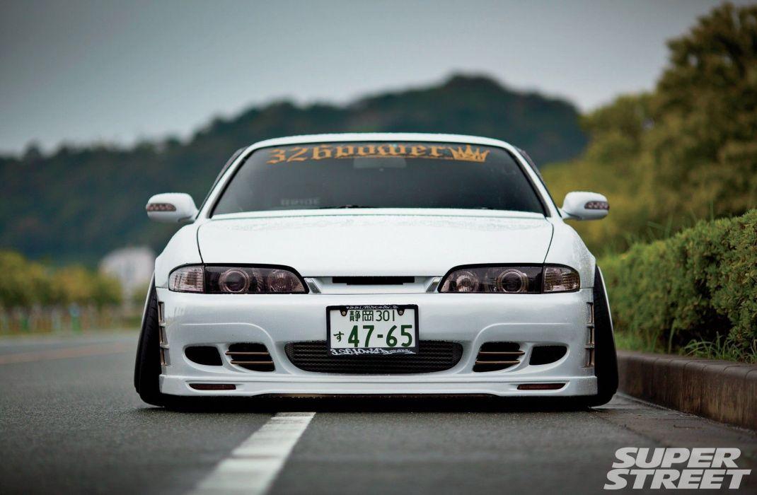 Nissan S14 Silvia cars tuning wallpaper