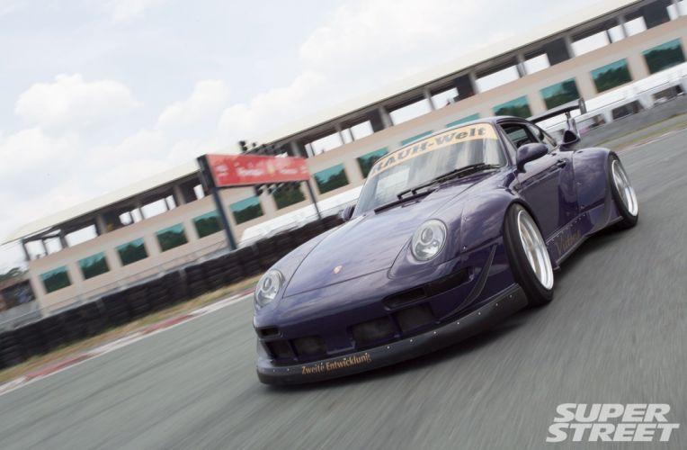 1994 Porsche 993 Carrera 2 RWB bodykit tuning wallpaper