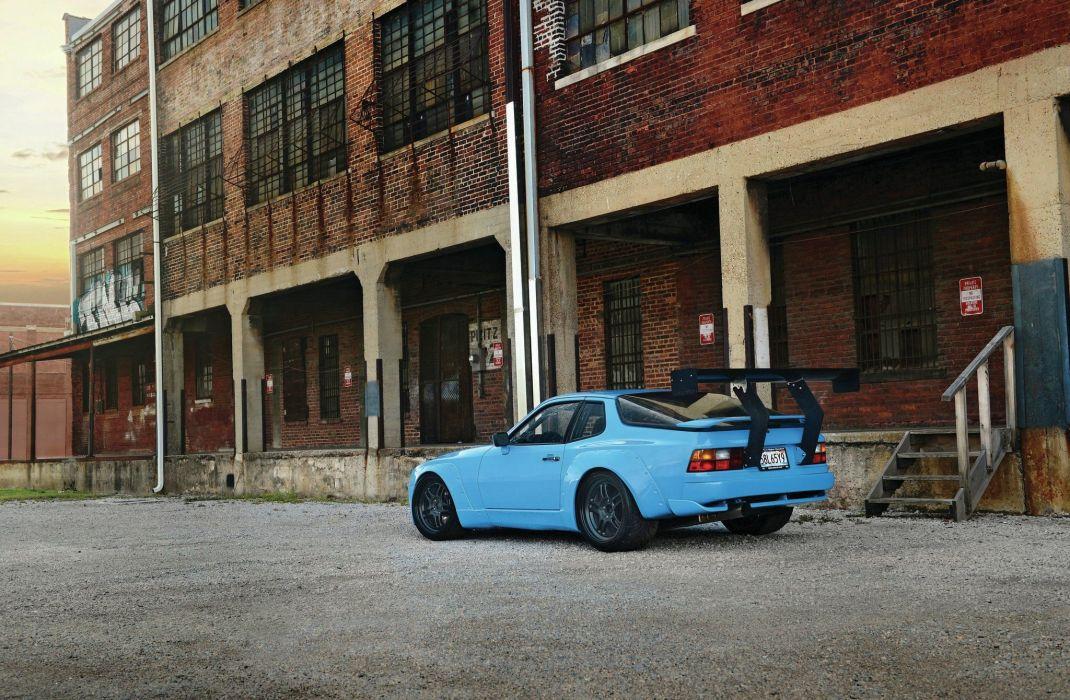1987 porsche 944 turbo cars coupe bodykit tuning wallpaper