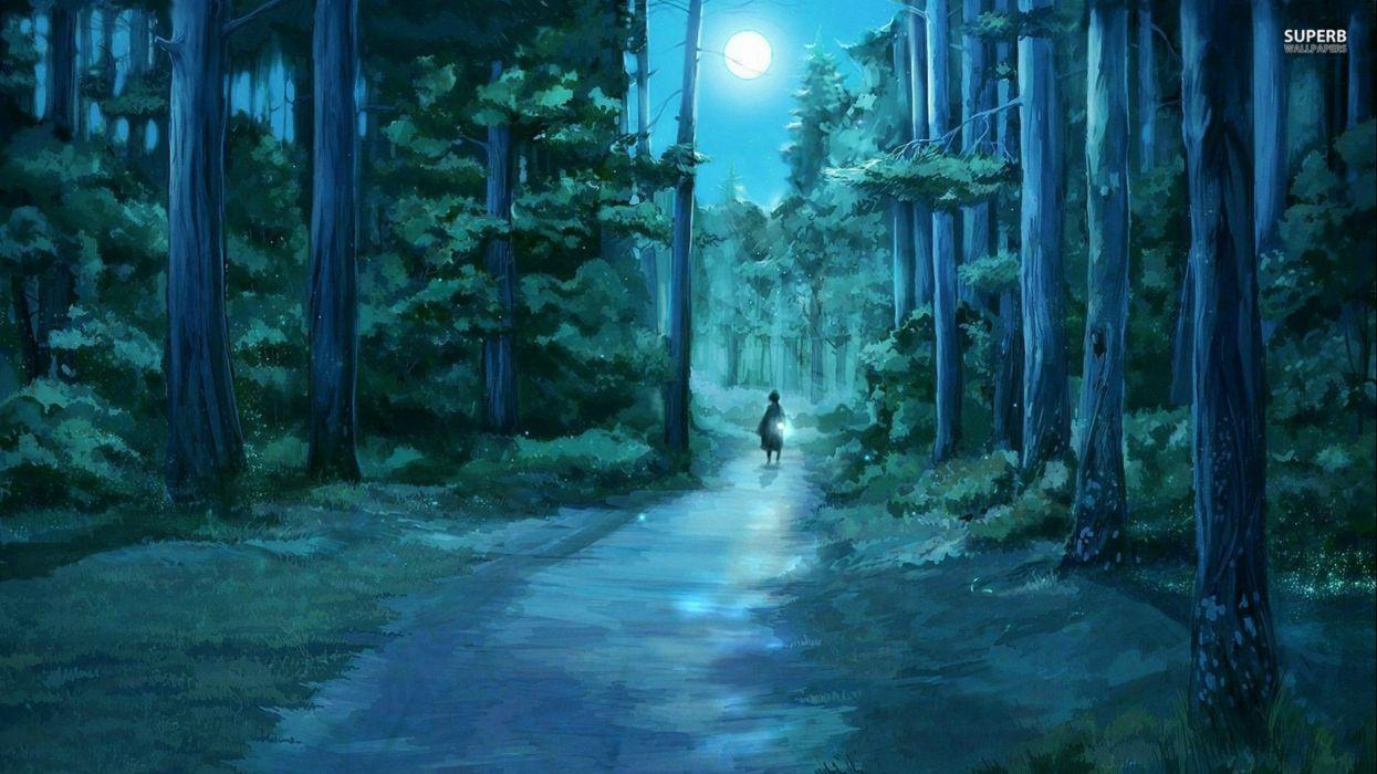artwork fantasy magical art forest tree landscape nature wallpaper