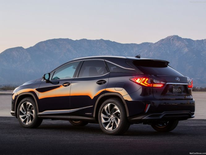 Lexus RX 450h suv cars Luxury 2016 wallpaper