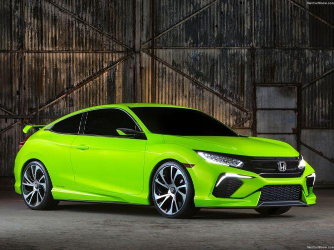 Honda Civic Concept cars coupe 2015 wallpaper