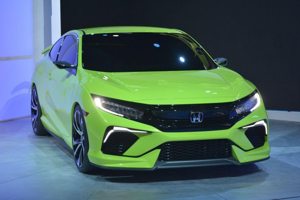2015 cars civic Concept Coupe Honda wallpaper