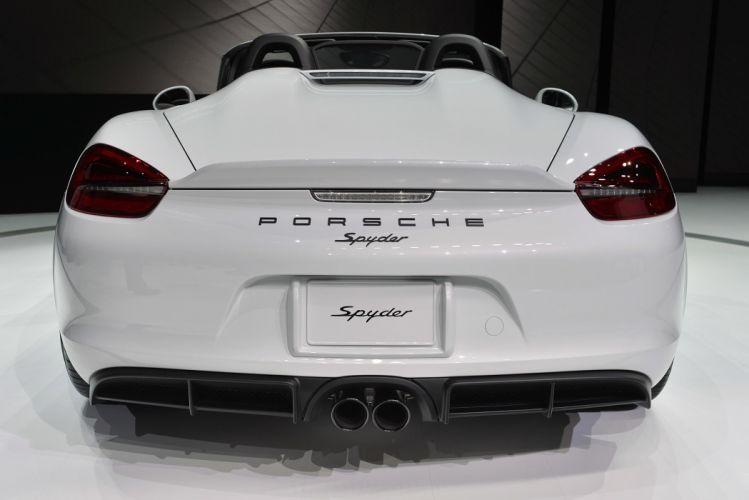 2016 boxster Porsche spyder cars wallpaper
