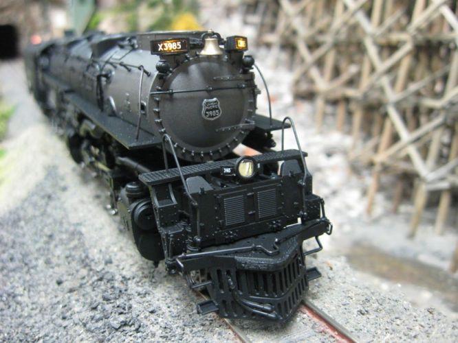 train railroad tracks locomotive engine trains wallpaper